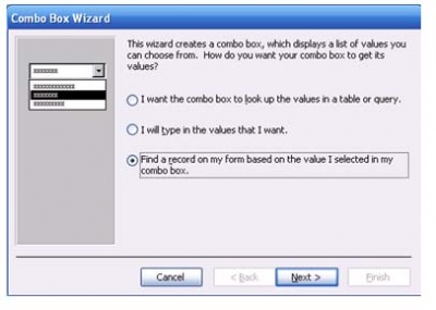 Find a Record using a Combo Box | Expert Zone | Cimaware